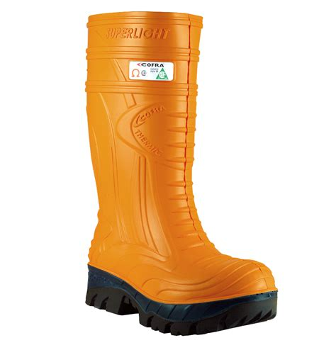thermic orange eh pr insulated composite toe boot