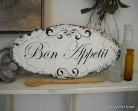 bon appetit signs for kitchen bon appetit kitchen signs shabby vintage style 14 x