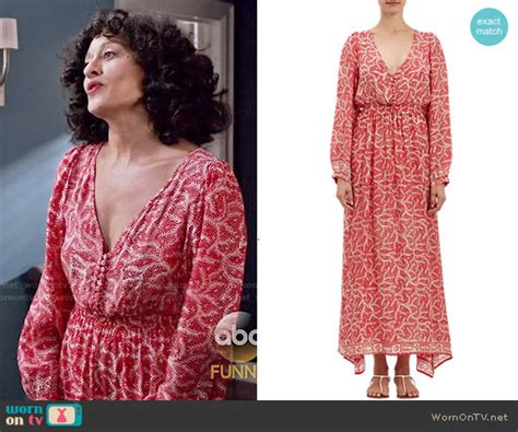 Miranda Kerr In Print Natalie Martin Maxi Dress With by Wornontv Rainbow S Printed Sleeve Dress On Black