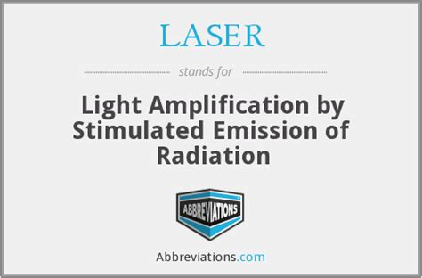 Light Lification By Stimulated Emission Of Radiation by Laser Light Lification By Stimulated Emission Of