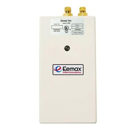 eemax sp3512 electric tankless water heater eemax sp3512 electric tankless water heater plumbersstock