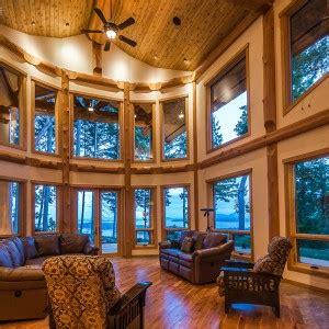 gabriola island fusion – west coast log homes