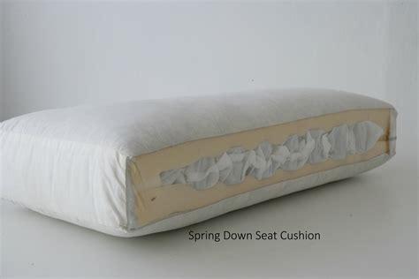 coil spring sofa cushions seat cushions lester furniture mfg