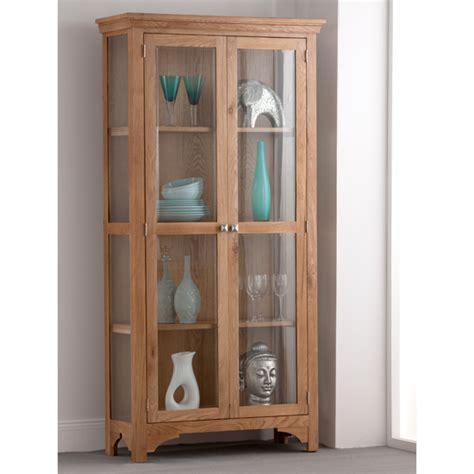 2 door display cabinet montana oak 2 door display cabinet 18602 furniture in