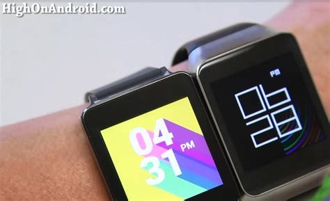 android wear review gear live highonandroid