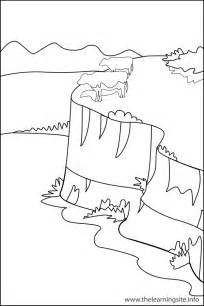 free coloring pages of landforms plain