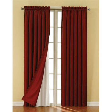 curtains 60 inches long thermaliner white 60 inch long blackout window curtain