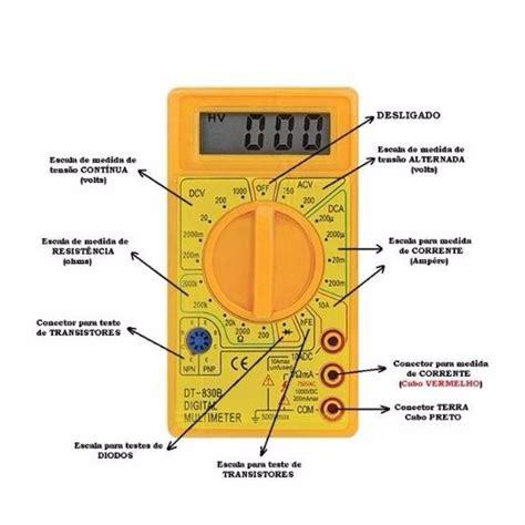 capacitor no receptor mult 237 metro digital cabo de multiteste testador dt 830 r 44 99 em mercado livre