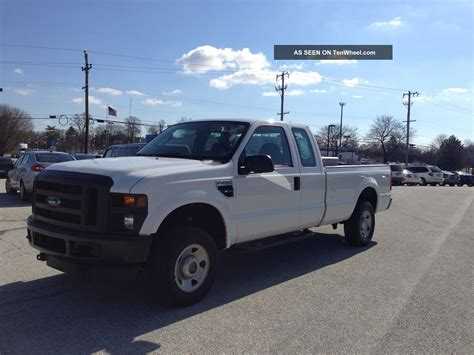 f250 truck bed 2008 ford f250 superduty 4x4 xl ext cab long bed pa nspected