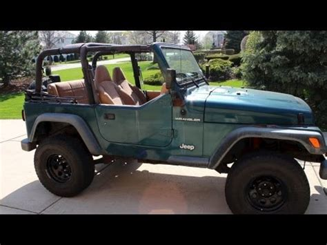 how to take off jeep wrangler top / roof | remove soft