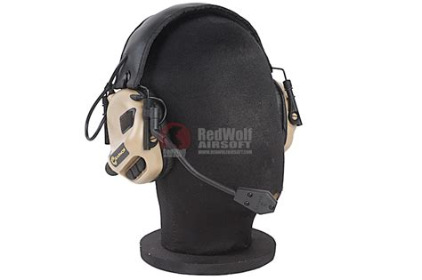 Earmor M32 Electric Earmuff earmor tactical hearing protection ear buy airsoft accessories from redwolf