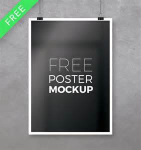 psd templates free for photoshop 28 free psd poster mockup templates for designers