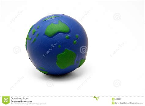 Earth Squeeze Blue earth squeeze i stock photography image 462932