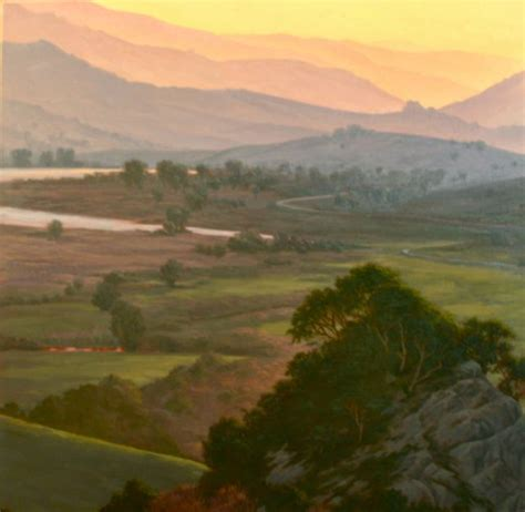 northern california landscape painting quot nicasio valley