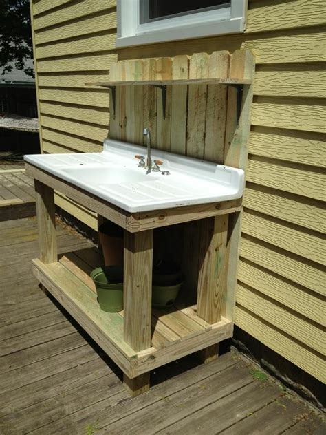 Sink For Outdoor Kitchen 25 Best Ideas About Outdoor Sinks On Outdoor Kitchens For Sale Farm Sink For Sale