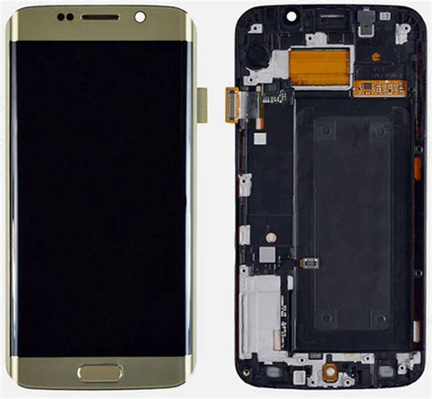 Lcd Samsung S7 Edge Replika samsung s7 edge lcd touch assembly cnphoneparts