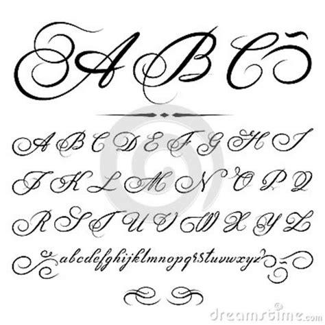 lettering tutorial italiano abecedario en caligrafia artistica