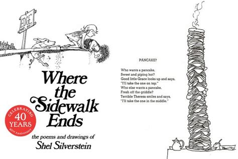 book review where the sidewalk ends the poems and