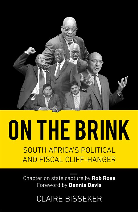 on the brink on the brink south africa s political and fiscal cliff