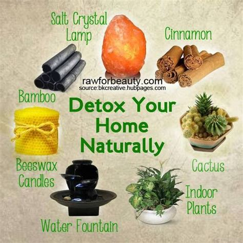 How To Detox Your Naturally At Home by How To Detox Your Home Naturally 7 Ways Salts Magnets