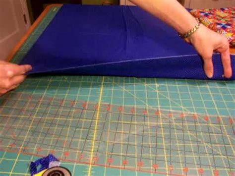 Cutting Strips For Quilting by How To Use A Rotary Cutter To Cut Strips For Quilting