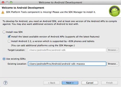 android sdk eclipse o que preciso para desenvolver aplicativos para android e tinet