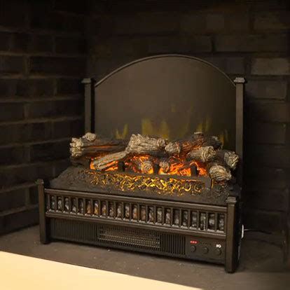 comfort glow 23 inch deluxe electric fireplace insert/log