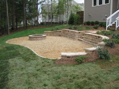 diy pit with pea gravel pea gravel for the home