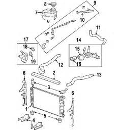 2008 Pontiac G6 Exhaust System Diagram Parts 174 Pontiac G6 Radiator Components Oem Parts