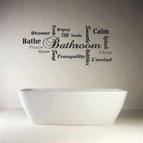 wall quotes bathroom 25 best bathroom wall quotes on pinterest bathroom wall