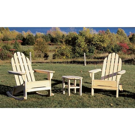 cedar adirondack rocker chair 92704 patio furniture at