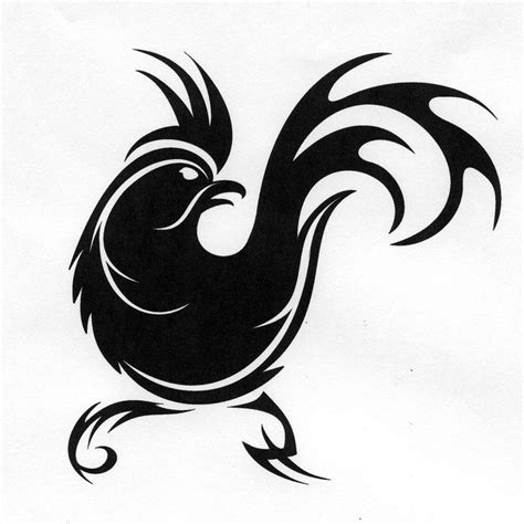tribal rooster tattoos free rooster pictures to print prints more from