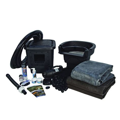 aquascape pond kits aquascape 8 x 11 diy backyard pond kit mpn 99765 best