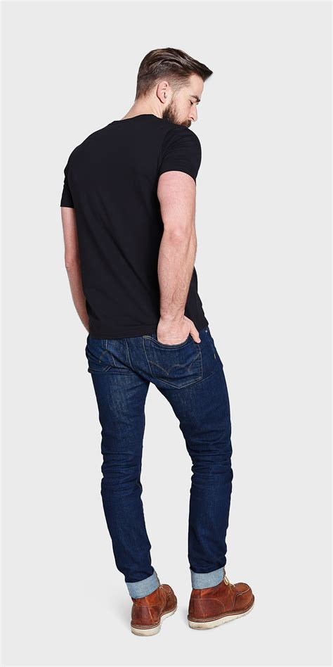 V Neck Expression Tshirt mens v neck t shirt organic cotton