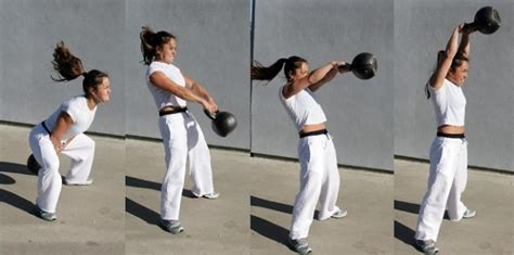 swinging kettlebells extreme kettlebell cardio workout test of willpower