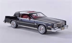 1980s Cadillac Models Cadillac Eldorado Biaritz Black D 1980 Neo Diecast Model