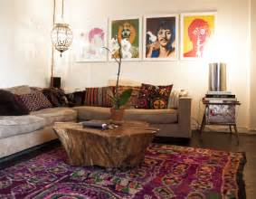Bohemian Living Room Furniture Bohemian Style Living Room Orchidlagoon
