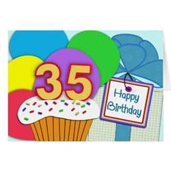 happy 35th birthday card zazzle