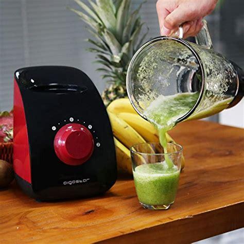 aigostar pomegranate 30jdf standmixer 750 watt leistung 1 5l glas beh 228 lter scharfe 4 fach