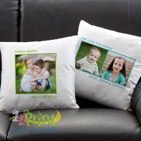 foto su cuscini cuscino personalizzato con foto