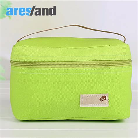 Promo Cooler Bag Lunch Bag Tas Pendingin Tas Makan aresland portable lunch bag for lunch box children picnic food bag thermal cooler
