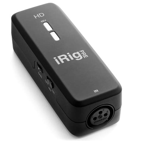 Ik Multimedia Irig With Lightning 1 ik multimedia irig pre hd 171 audio interface