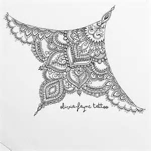 the 25 best mandala sternum tattoo ideas on pinterest
