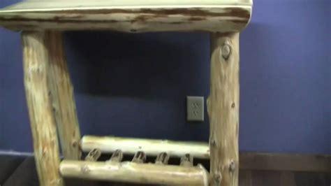 cedar lake log sofa table log living room furniture from