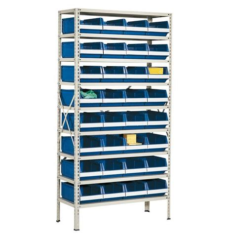 Small Parts Racking by Package Deal Small Parts Shelving With 32 Bins Aj Products