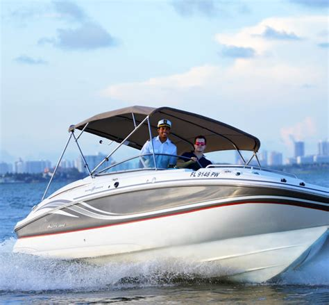 hourly boat rental miami 24 hurricane for rent in north bay village florida boat me