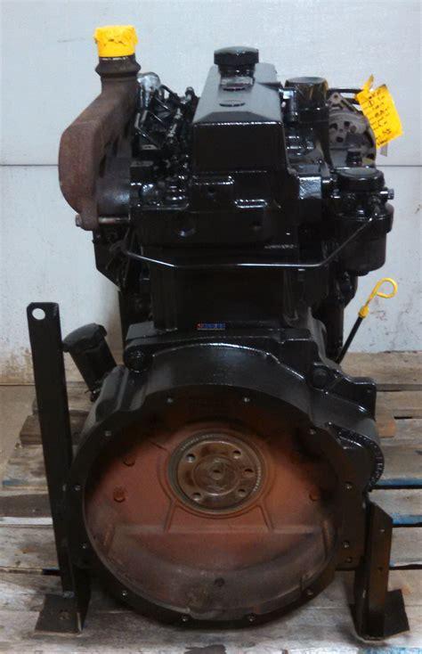 engine john deere jd  powertech engine reconditioned esn ped bcn