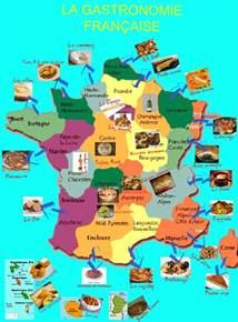 carte gastronomie la et les fran 199 ais