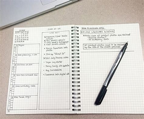 Career Journal Online Work From Home - how i keep a bullet journal at work the bullet journal