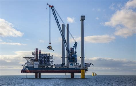 best offshore banks in the world world s largest offshore wind turbine up at burbo bank 2